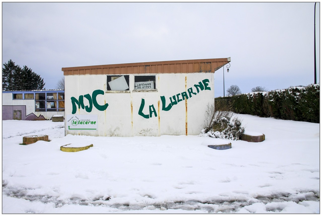 MJC enneigée - André