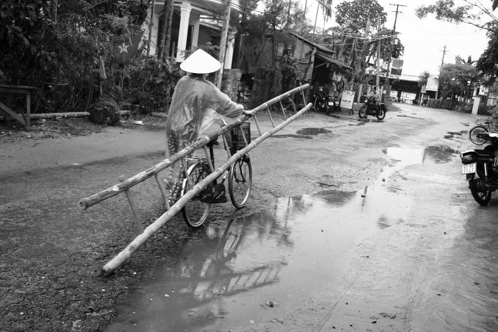 L'échelle à vélo