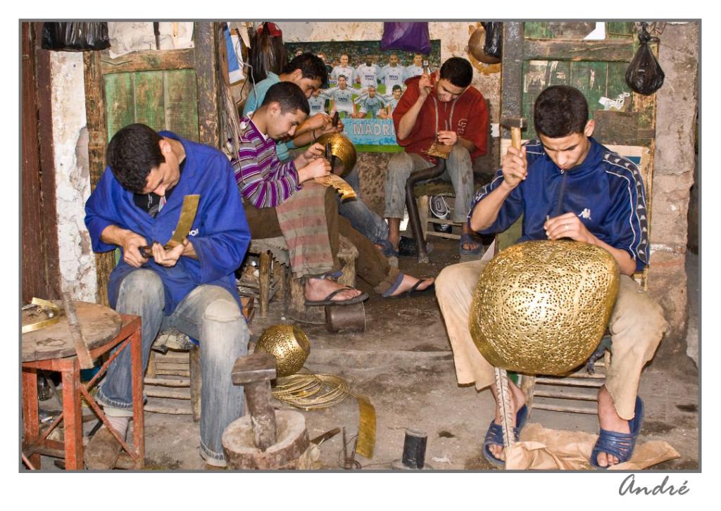 MARAKECH, artisans
