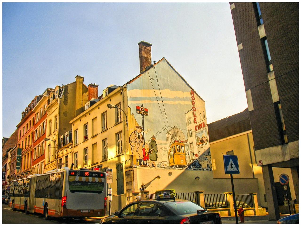 Mur de Bruxelles - Annie