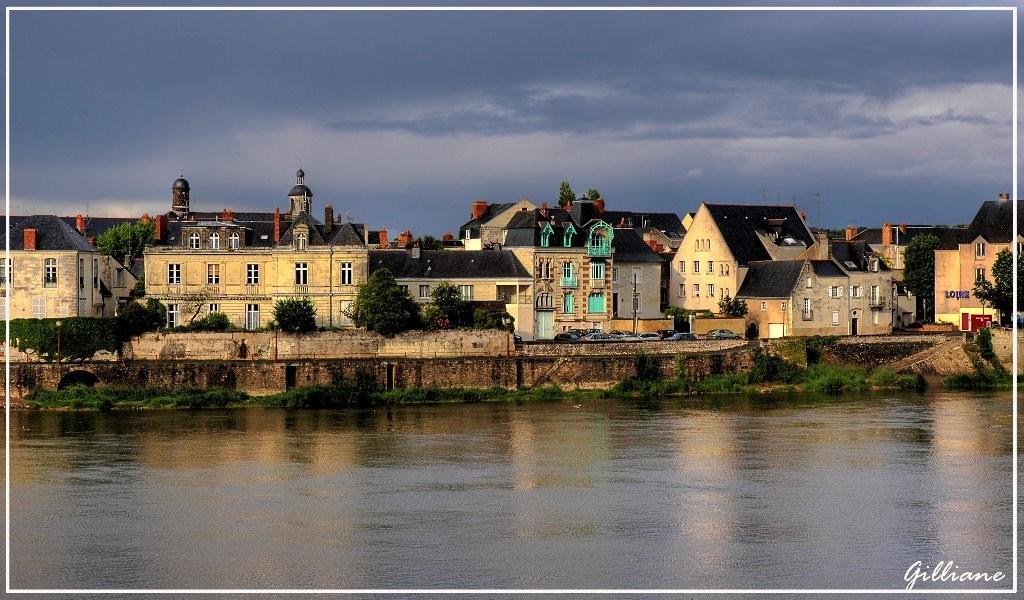 Bord de Loire à Saumur