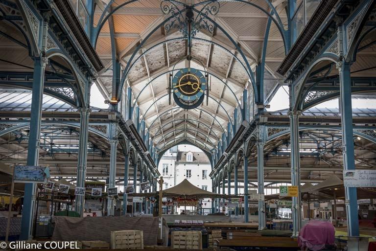 Gilliane : Dijon, le marché couvert