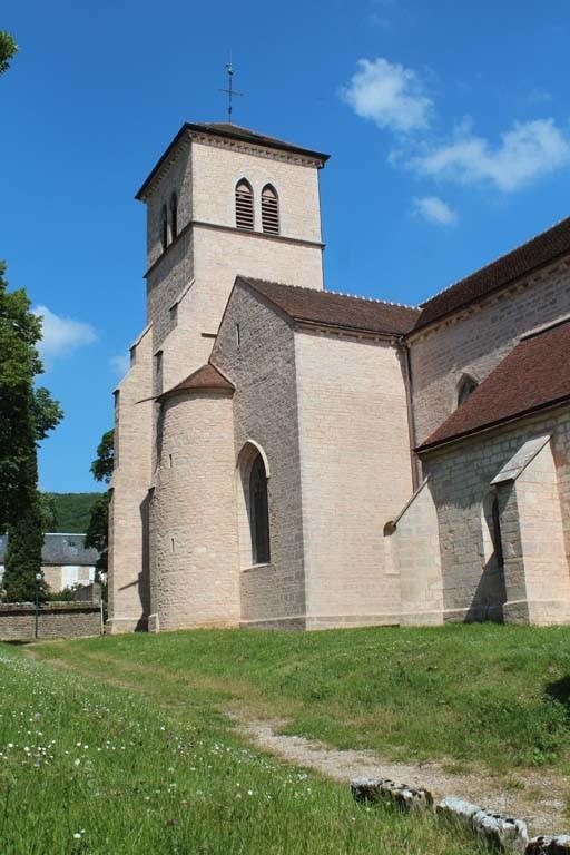 Pascale : Route des Grands crus, église