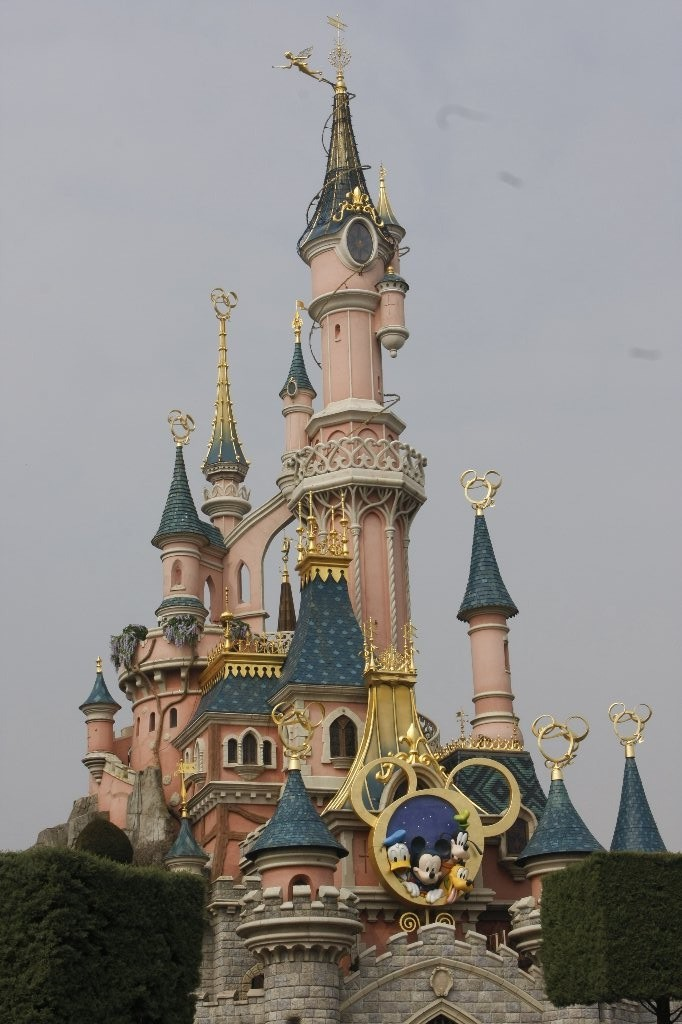 Patrick : Dysneyland, le chateau