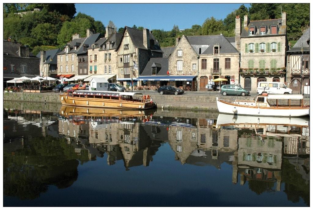 Reflets - Port de Dinan