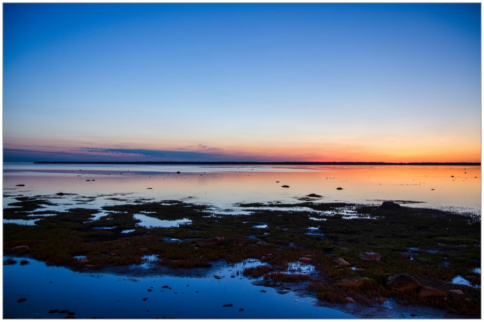 Couché de soleil en Gaspésie - Gilliane