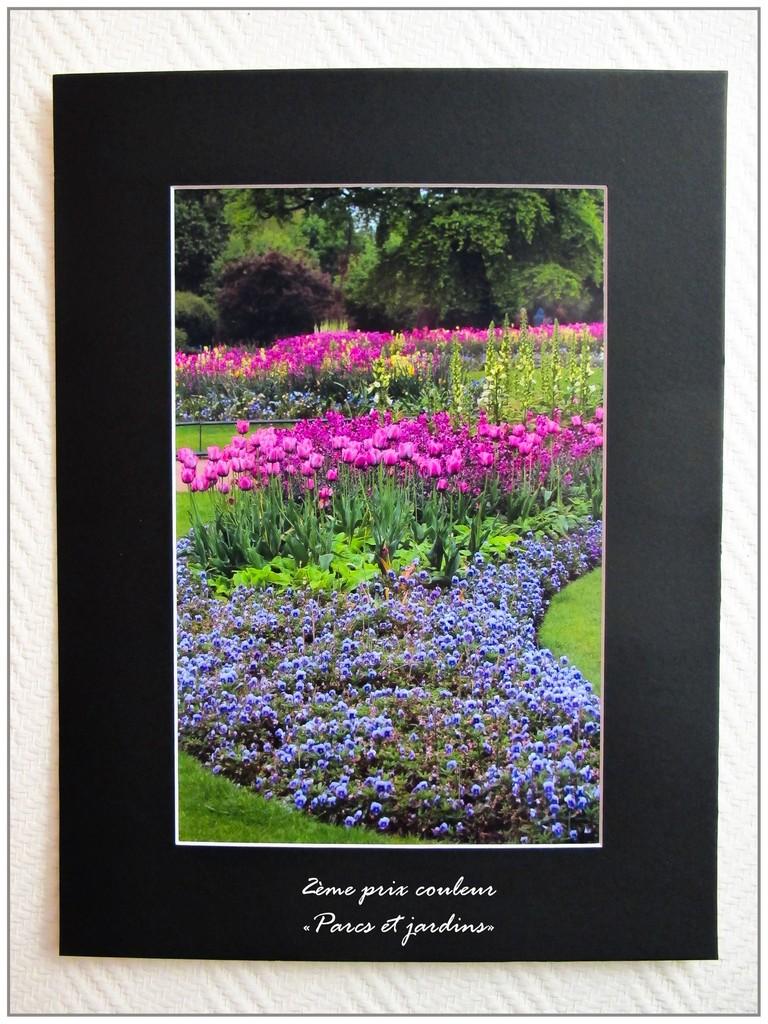 """2eme prix Parcs et jardins : Marie-Jo Barbanchon """"Hyde park"""""""