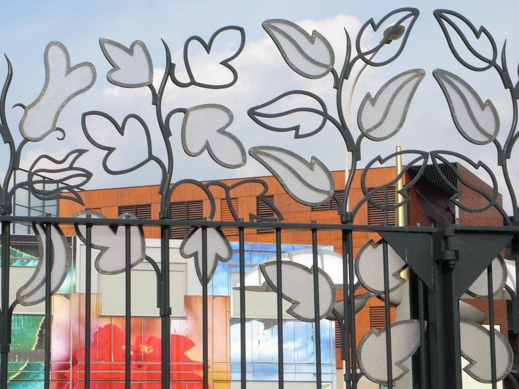 Thierry : Fleurs forgées