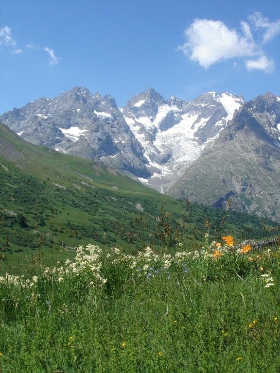 La montagne à Serre Chevalier
