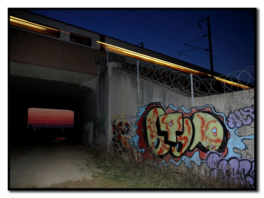 Alex : Train grafiti