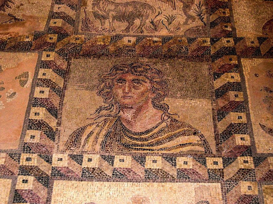 Mosaique - Gilliane - Vestige chypriote