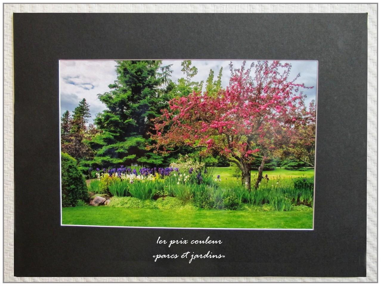 1er prix Parcs et jardins : Gilliane Coupel, Jardin de Métis