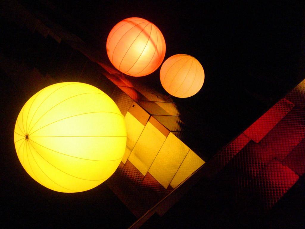 Pascale : Boules de lumière