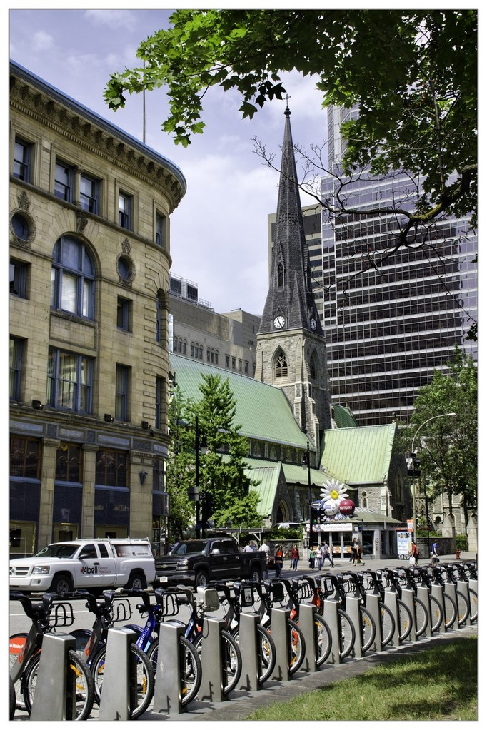 Vélib à Montréal - Gilliane