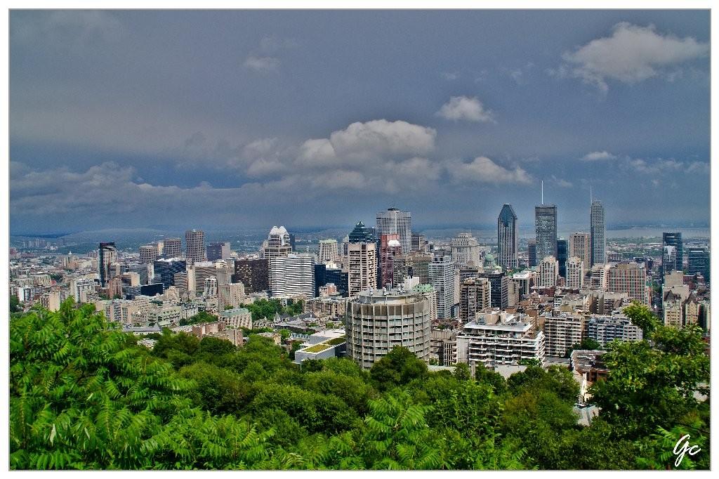 Québec - Montréal - vue du Mont Royal