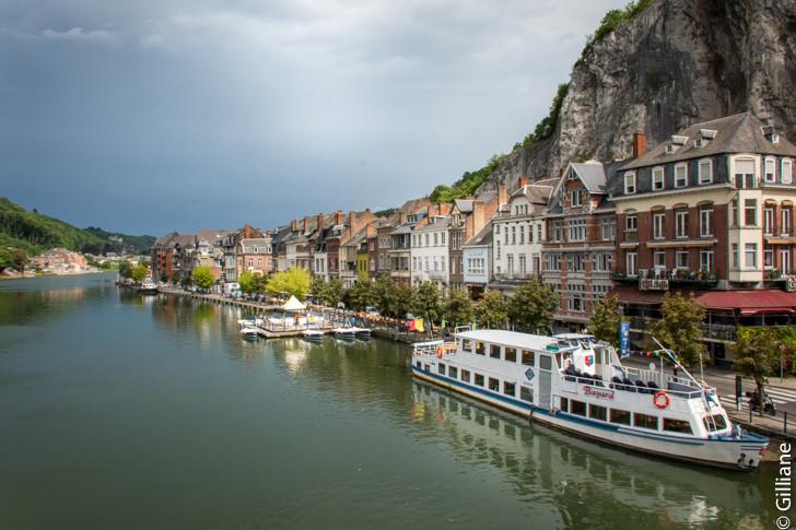 Dinant, bord de Meuse