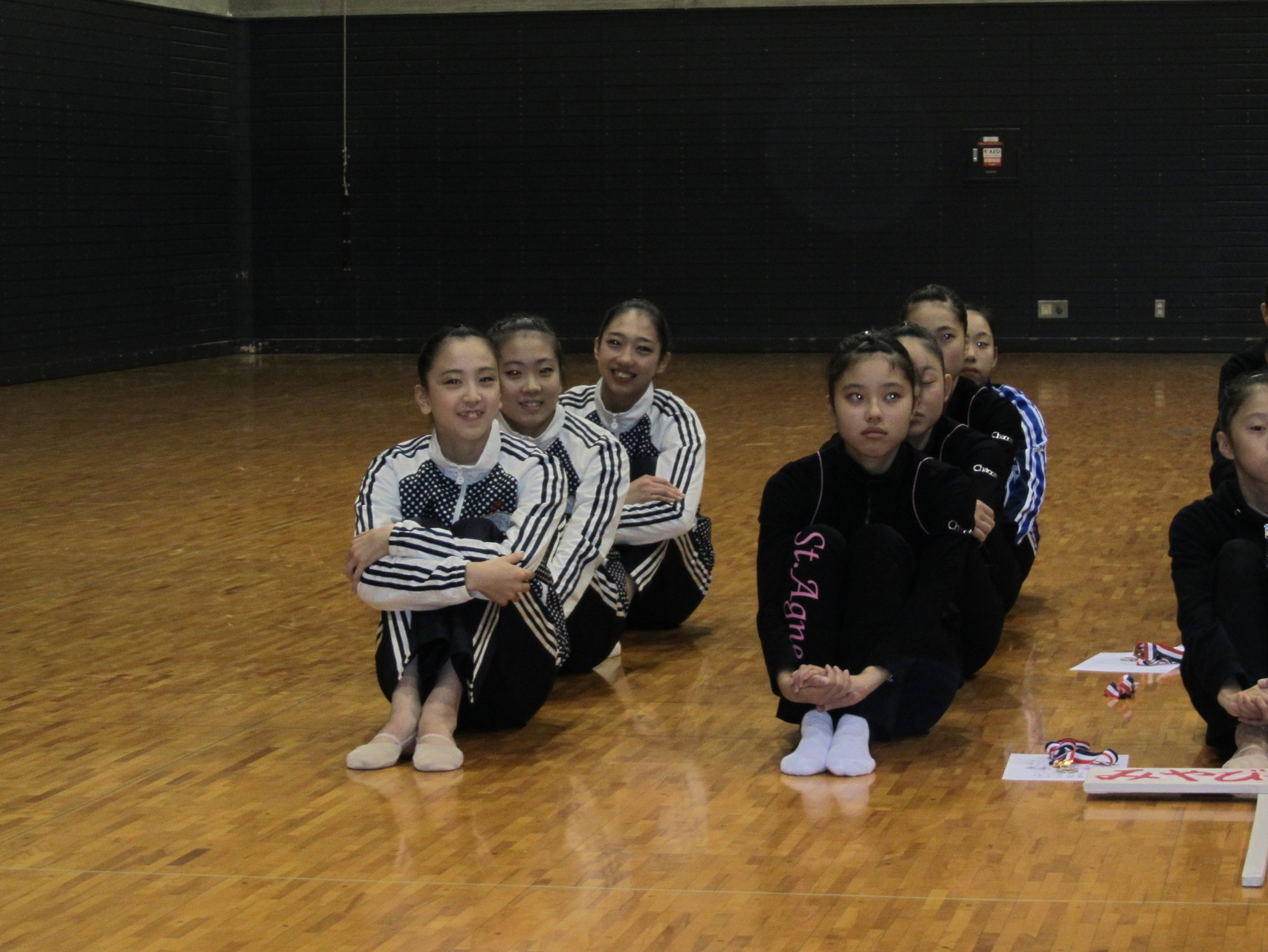 第2回京都新体操クラブ選手権 表彰式