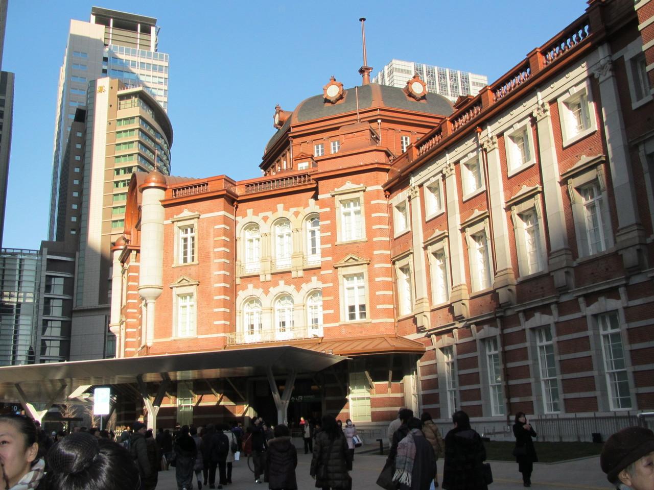 新しくなった東京駅