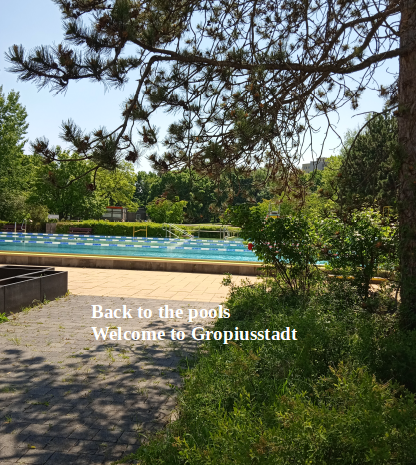 Back to the pools- welcome to Gropiusstadt