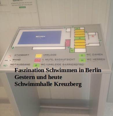 Faszination Schwimmen in Berlin - gestern und heute: Schwimmhalle Kreuzberg