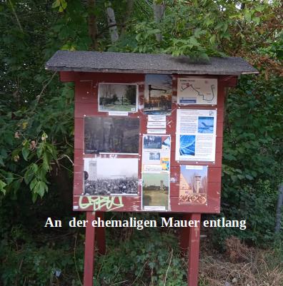 Rad fahren in Berlin- An der ehemaligen Mauer entlang