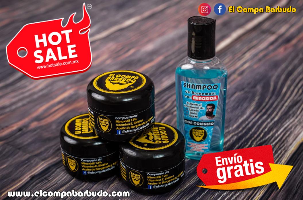 HOT SALE 3 BALSAMOS + SHAMPOO $980 ENVIO GRATIS A TODO MEXICO