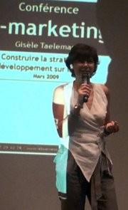Gisèle Taelemans en conférence