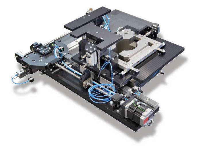 Machine spéciale pour la micro électronique