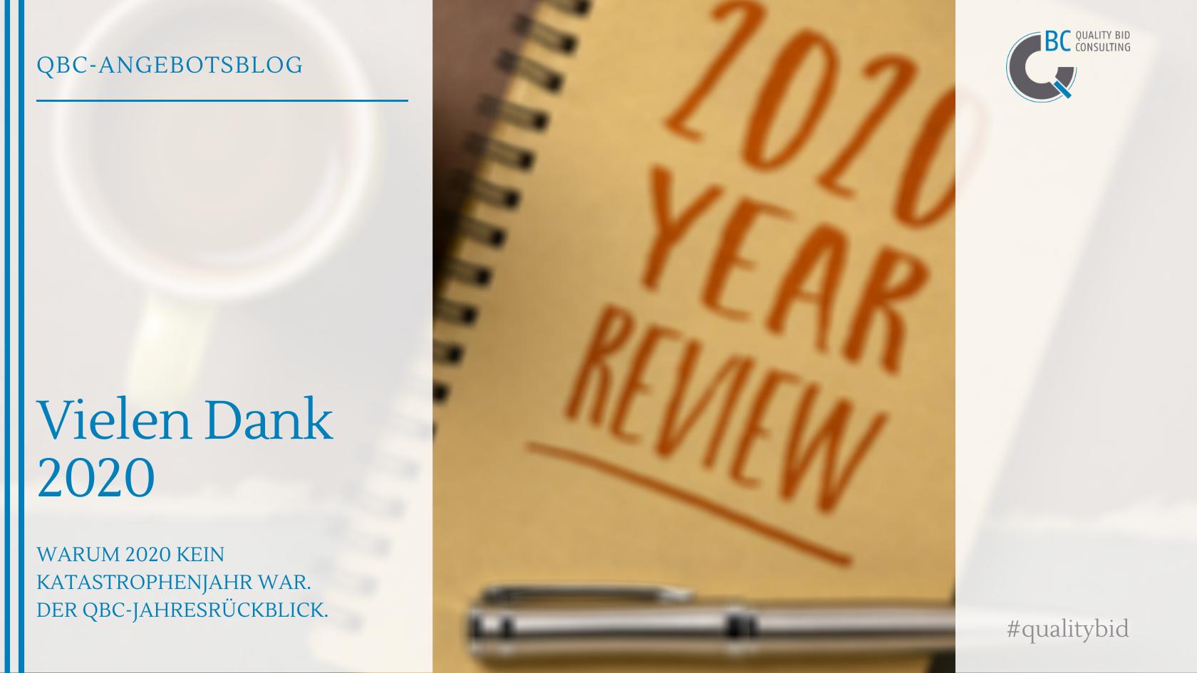 Vielen Dank 2020 – Der QBC-Jahresrückblick