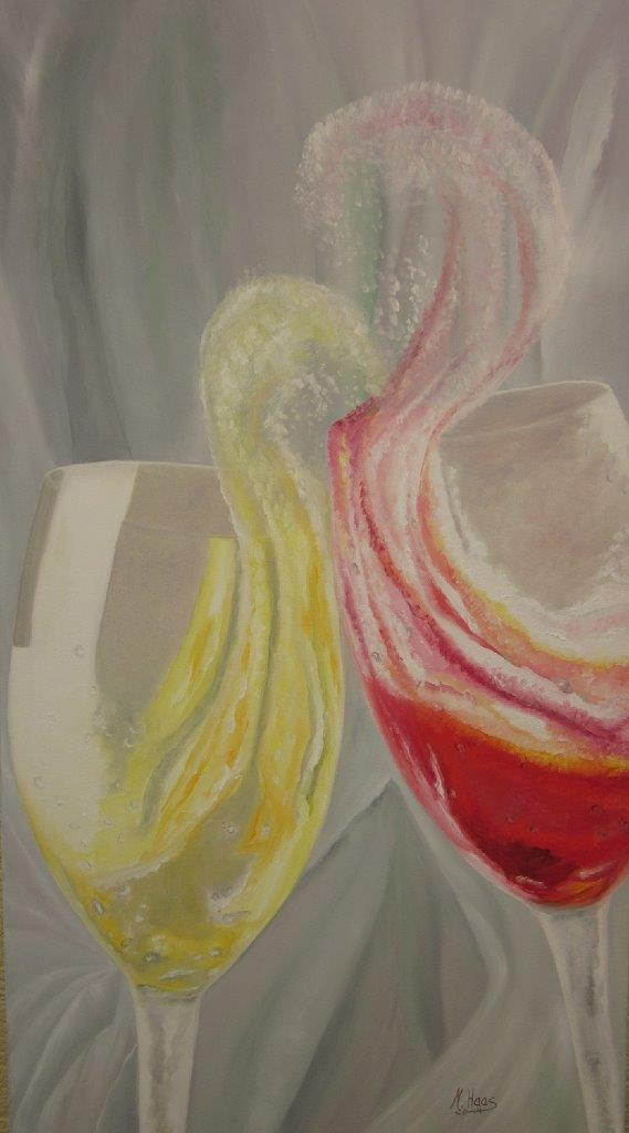 Vivace 3, 1,20 m x 0,60 m, Ölfarbe auf Leinwand