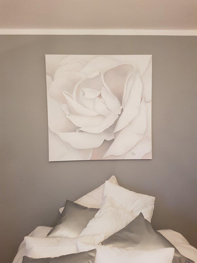 Rose-in-Weiß-100x100cm-Rosenbild-Rheingau-Kunst-kaufen-mieten-