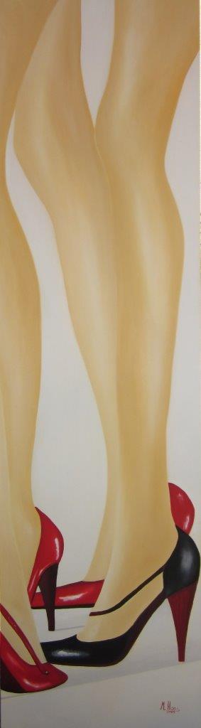 Catwalk-180x50cm-Oelfarbe-auf-Leinwand-Rheingau-Malerei