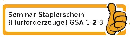 AZAV Schulungsmaßnahmen Staplerschein / Flurförderzeuge