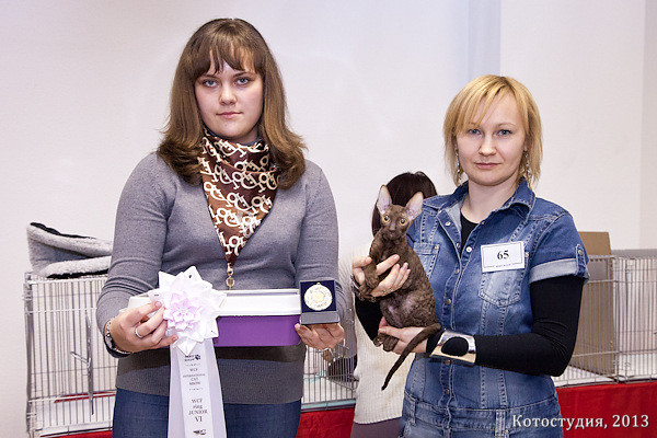 Brianna Fate Rex,6 place WCF-ring junior (ex. N.Flegontova)