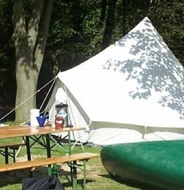 Unterwegs mit Boot und Zelt auf der Hunte