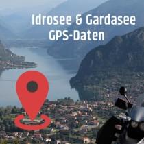 GPS-Daten für Motorrad Reisen am Idro- und Gardasee zum Planen.