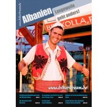 Motorrad Reisebericht über Albanien für Motorradfahrer als PDF in Druckqualität erhältlich.