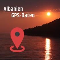 GPS-Daten für Motorrad Reisen in Albanien zum Planen.