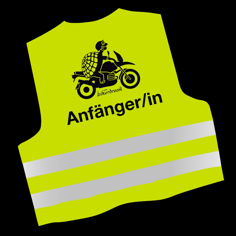 Warnwesten Motorrad