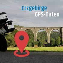 GPS-Daten für Motorrad Reisen im Erzgebirge zum Planen.