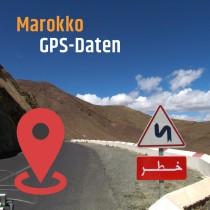 GPS-Daten für Motorrad Reisen in Marokko zum Planen.