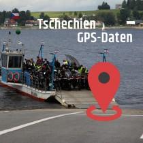 GPS-Daten für Motorrad Reisen in Tschechien zum Planen.