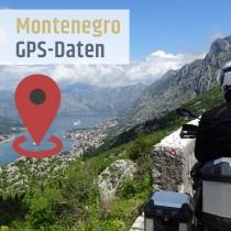 GPS-Daten Montenegro