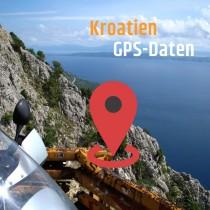 GPS-Daten für Motorrad Reisen in Kroatien zum Planen.
