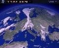 Satellitenbild und Wetter Österreich