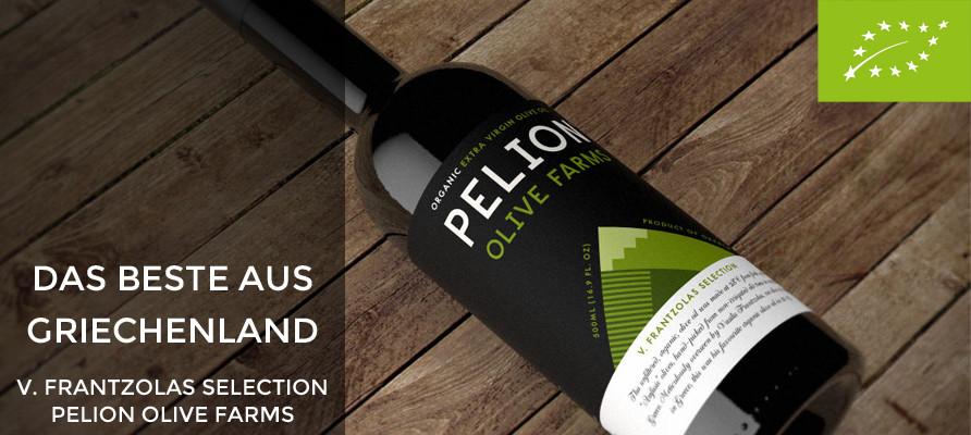 Das beste Olivenöl Griechenlands - PELION OLIVE FARMS - evoo ag - Vasilis Frantzolas