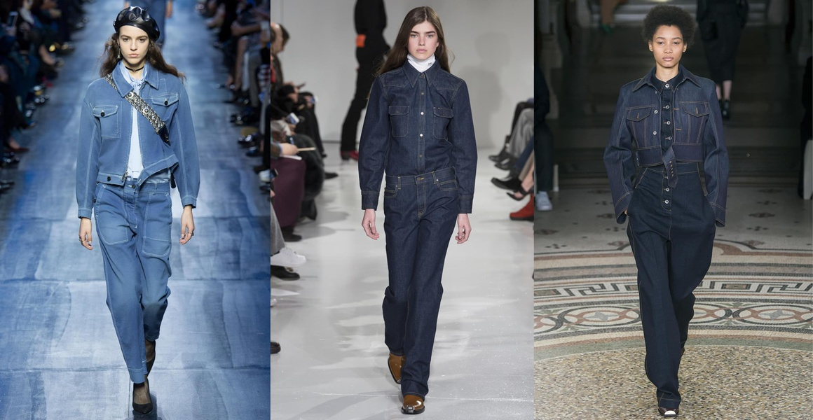 Le total look denim