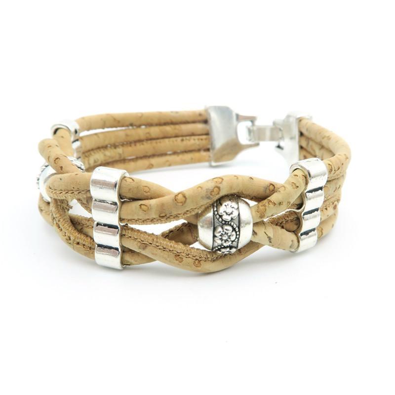Bracelet en liège Lynkia fait main, 19, 90 euros