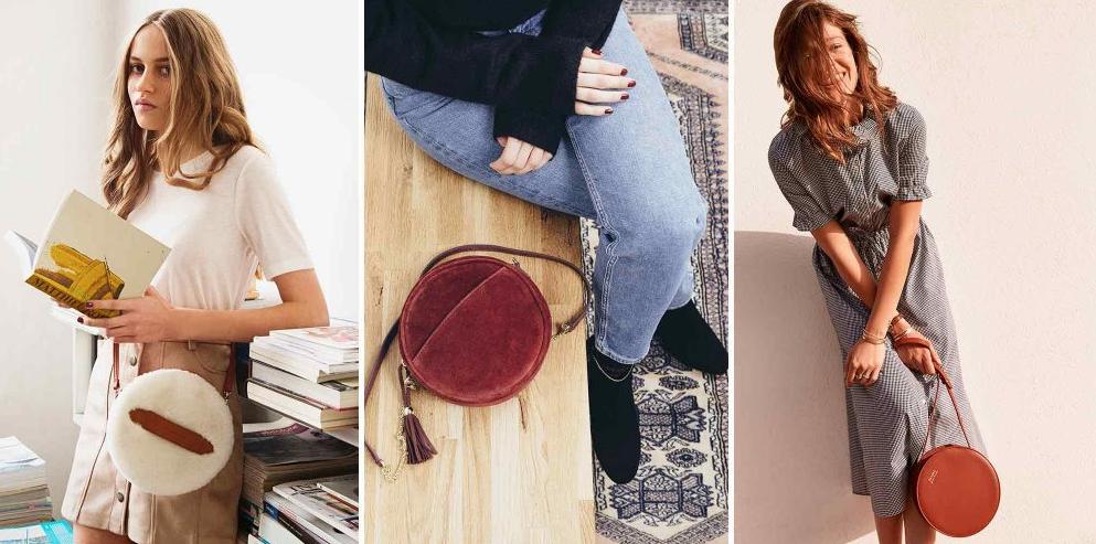 sacs ronds automne hiver 2018, accessoires mode automne hiver 2018, accessoires tendances automne 2018
