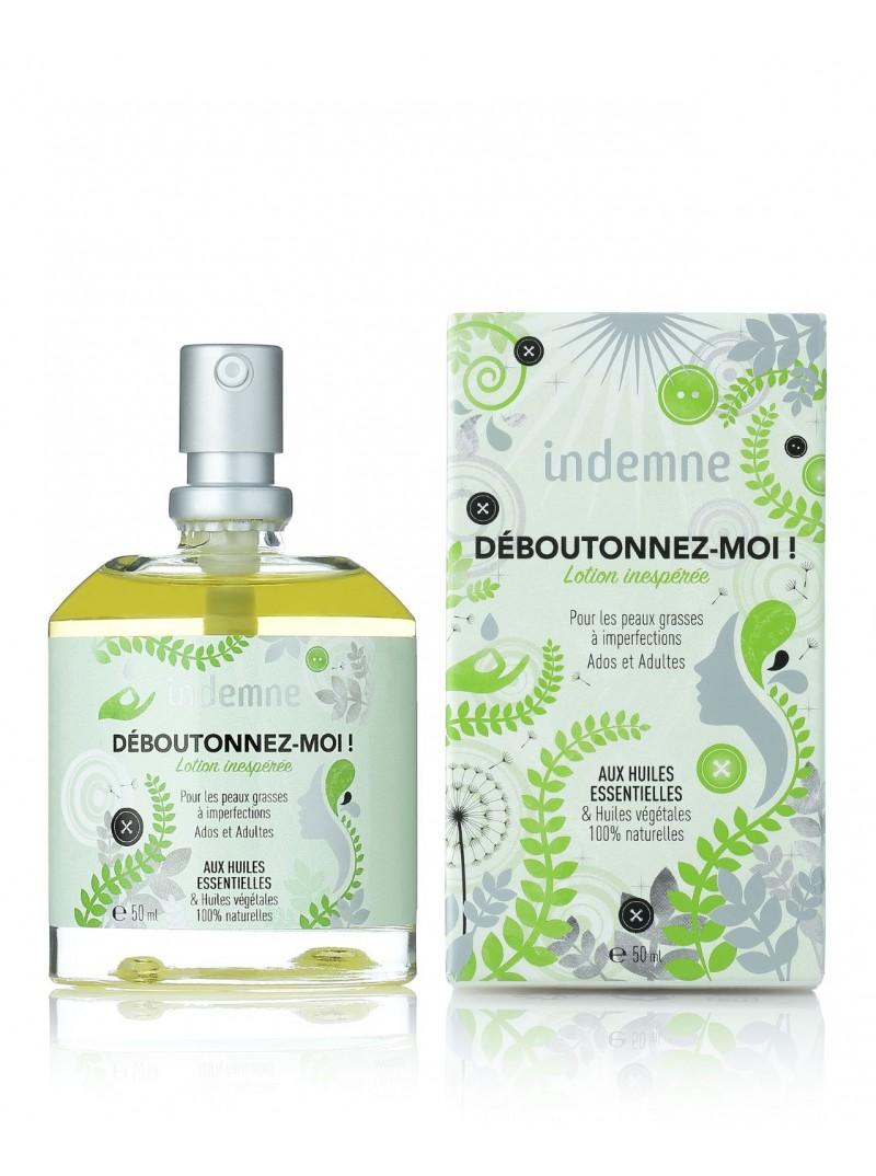 Lotion Naturelle Anti-Imperfections pour Peaux Mixtes à Grasses Déboutonnez-moi ! Végan. Indemne. 21,95 €